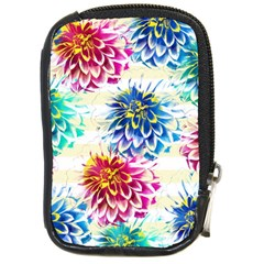 Colorful Dahlias Compact Camera Cases