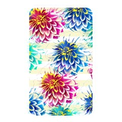Colorful Dahlias Memory Card Reader