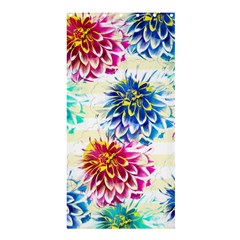 Colorful Dahlias Shower Curtain 36  x 72  (Stall)