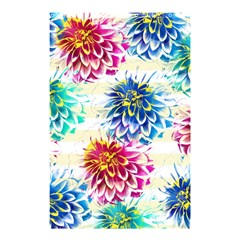 Colorful Dahlias Shower Curtain 48  x 72  (Small)