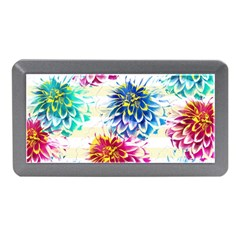 Colorful Dahlias Memory Card Reader (Mini)