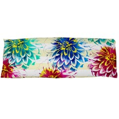 Colorful Dahlias Body Pillow Case (Dakimakura)