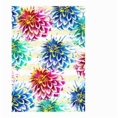 Colorful Dahlias Small Garden Flag (Two Sides)