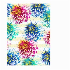 Colorful Dahlias Large Garden Flag (Two Sides)