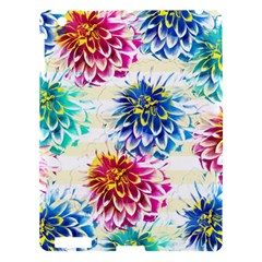 Colorful Dahlias Apple iPad 3/4 Hardshell Case