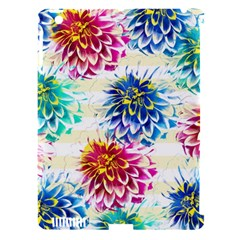 Colorful Dahlias Apple Ipad 3/4 Hardshell Case (compatible With Smart Cover) by DanaeStudio