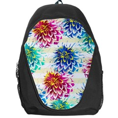 Colorful Dahlias Backpack Bag
