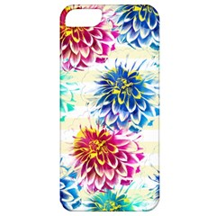 Colorful Dahlias Apple iPhone 5 Classic Hardshell Case