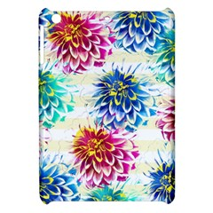 Colorful Dahlias Apple iPad Mini Hardshell Case by DanaeStudio