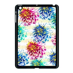 Colorful Dahlias Apple iPad Mini Case (Black)