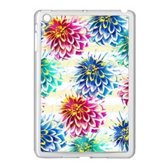 Colorful Dahlias Apple iPad Mini Case (White)