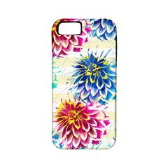 Colorful Dahlias Apple iPhone 5 Classic Hardshell Case (PC+Silicone)