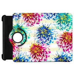 Colorful Dahlias Kindle Fire Hd 7  by DanaeStudio
