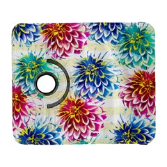 Colorful Dahlias Galaxy S3 (flip/folio) by DanaeStudio