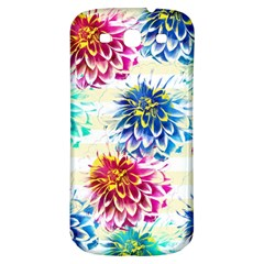 Colorful Dahlias Samsung Galaxy S3 S III Classic Hardshell Back Case