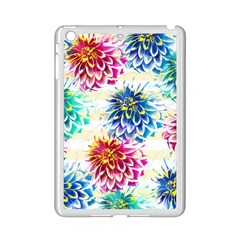 Colorful Dahlias Ipad Mini 2 Enamel Coated Cases by DanaeStudio