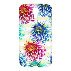 Colorful Dahlias Samsung Galaxy S4 I9500/I9505 Hardshell Case