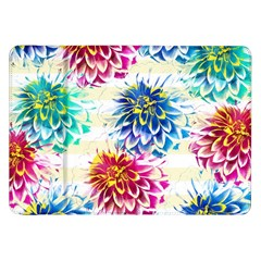 Colorful Dahlias Samsung Galaxy Tab 8.9  P7300 Flip Case