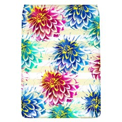 Colorful Dahlias Flap Covers (L)