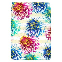 Colorful Dahlias Flap Covers (s)  by DanaeStudio