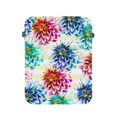 Colorful Dahlias Apple iPad 2/3/4 Protective Soft Cases