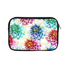 Colorful Dahlias Apple iPad Mini Zipper Cases