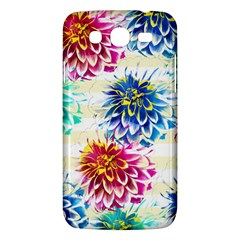 Colorful Dahlias Samsung Galaxy Mega 5 8 I9152 Hardshell Case  by DanaeStudio
