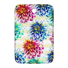 Colorful Dahlias Samsung Galaxy Note 8.0 N5100 Hardshell Case