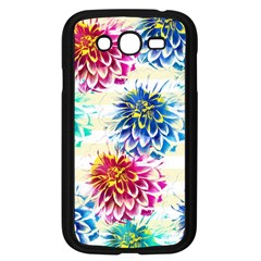Colorful Dahlias Samsung Galaxy Grand DUOS I9082 Case (Black)