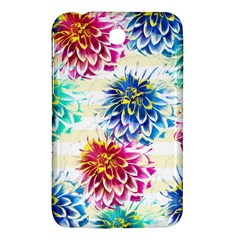 Colorful Dahlias Samsung Galaxy Tab 3 (7 ) P3200 Hardshell Case
