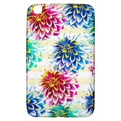 Colorful Dahlias Samsung Galaxy Tab 3 (8 ) T3100 Hardshell Case