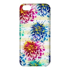 Colorful Dahlias Apple iPhone 5C Hardshell Case