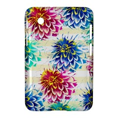 Colorful Dahlias Samsung Galaxy Tab 2 (7 ) P3100 Hardshell Case