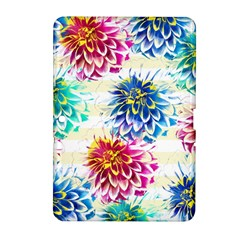 Colorful Dahlias Samsung Galaxy Tab 2 (10.1 ) P5100 Hardshell Case