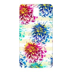 Colorful Dahlias Samsung Galaxy Note 3 N9005 Hardshell Back Case