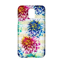 Colorful Dahlias Samsung Galaxy S5 Hardshell Case