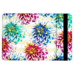 Colorful Dahlias iPad Air Flip