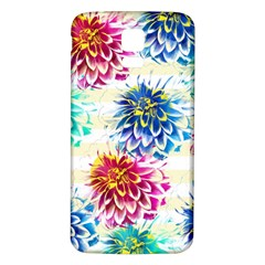 Colorful Dahlias Samsung Galaxy S5 Back Case (White)