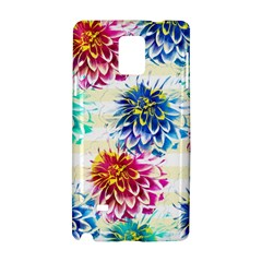 Colorful Dahlias Samsung Galaxy Note 4 Hardshell Case
