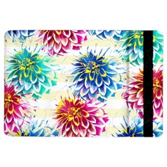 Colorful Dahlias Ipad Air 2 Flip by DanaeStudio