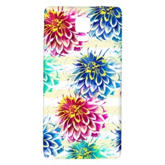 Colorful Dahlias Galaxy Note 4 Back Case by DanaeStudio