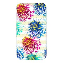 Colorful Dahlias Samsung Galaxy Mega I9200 Hardshell Back Case