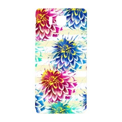 Colorful Dahlias Samsung Galaxy Alpha Hardshell Back Case