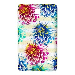 Colorful Dahlias Samsung Galaxy Tab 4 (7 ) Hardshell Case