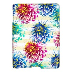 Colorful Dahlias Samsung Galaxy Tab S (10.5 ) Hardshell Case