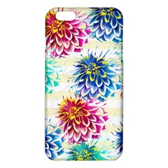 Colorful Dahlias iPhone 6 Plus/6S Plus TPU Case