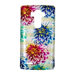 Colorful Dahlias LG G4 Hardshell Case