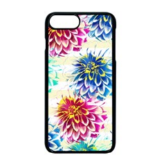Colorful Dahlias Apple iPhone 7 Plus Seamless Case (Black)