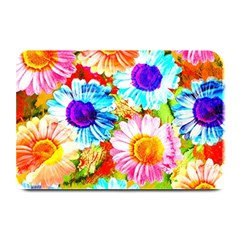 Colorful Daisy Garden Plate Mats by DanaeStudio