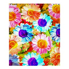 Colorful Daisy Garden Shower Curtain 60  X 72  (medium)  by DanaeStudio